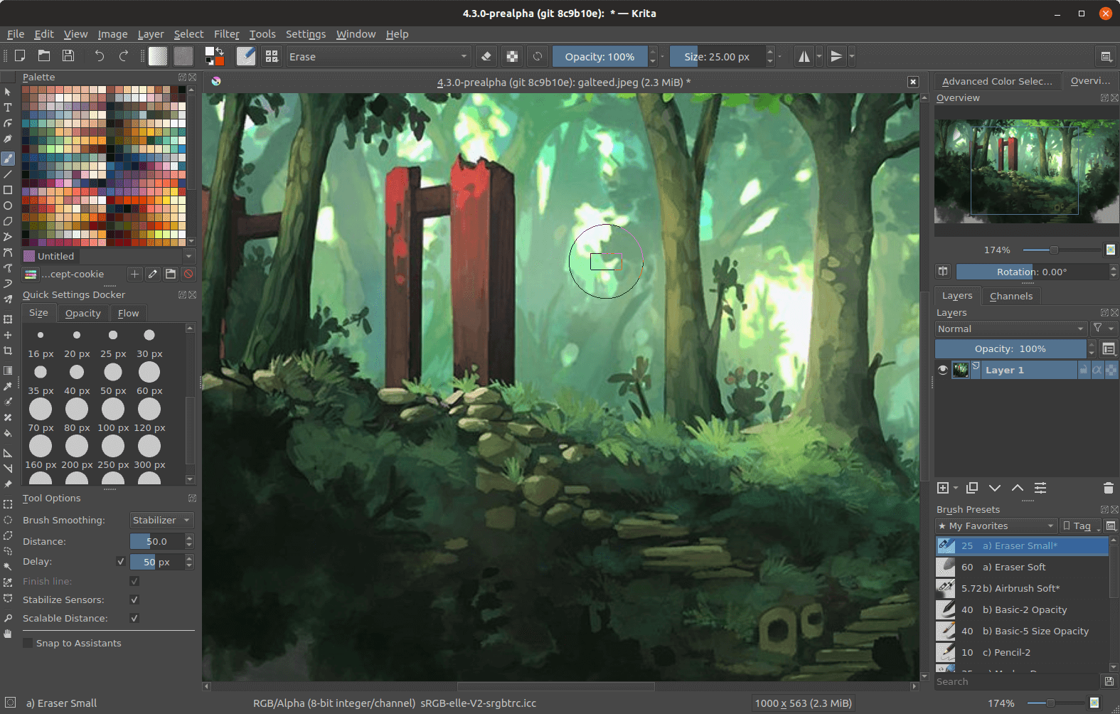 Krita is a professional FREE and open source painting program. It is made by artists that want to see affordable art tools for everyone. concept art texture and matte painters illustrations and comics